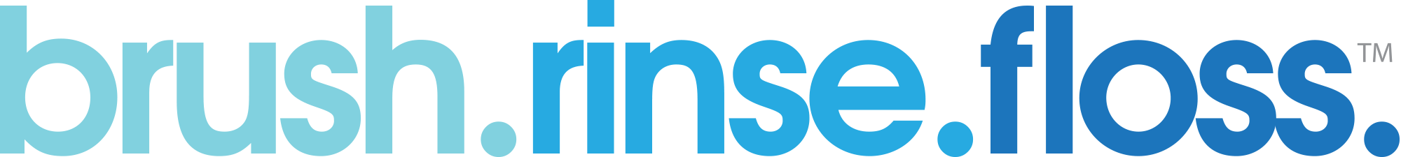 Brush Rinse Floss logo